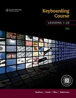 KEYBOARDING COURSE (TEXT ONLY) (LESSONS1-25)