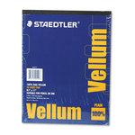STAEDTLER VELLUM 8 1/2 X 11 50 SHEET PAD